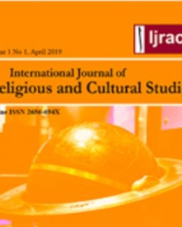 International Journal on Religious of Cultural Studies